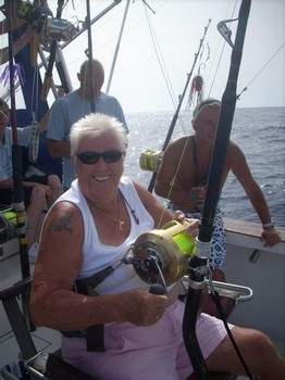 78 years old Cavalier & Blue Marlin Sport Fishing Gran Canaria