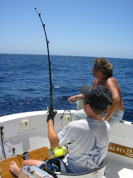 11/08 hooked up Cavalier & Blue Marlin Sport Fishing Gran Canaria