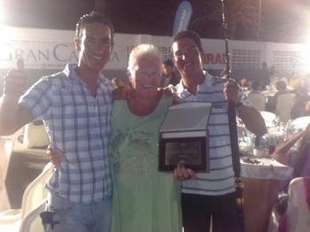31/08 the winning team Cavalier & Blue Marlin Sport Fishing Gran Canaria