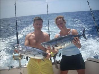 02/09 skipjack tuna Cavalier & Blue Marlin Sport Fishing Gran Canaria