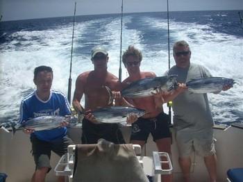 04/09 skipjack tuna Cavalier & Blue Marlin Sport Fishing Gran Canaria