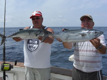 2 atlantic bonitos Cavalier & Blue Marlin Sport Fishing Gran Canaria