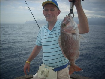 19/09 red snapper Cavalier & Blue Marlin Sport Fishing Gran Canaria