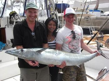 06/10 wahoo Cavalier & Blue Marlin Sport Fishing Gran Canaria
