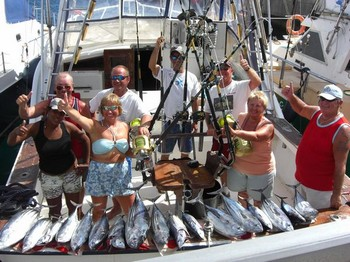 09/10 satisfied fishermen Cavalier & Blue Marlin Sport Fishing Gran Canaria