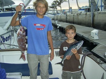 red snapper - bonito Cavalier & Blue Marlin Sport Fishing Gran Canaria