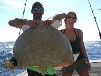14/11 butterfly ray Cavalier & Blue Marlin Sport Fishing Gran Canaria