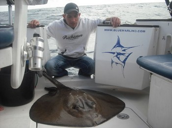 06/01 Roughtail Stingray Cavalier & Blue Marlin Sport Fishing Gran Canaria