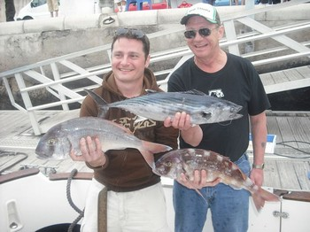 09/01 red snappers - atlantic sierra Cavalier & Blue Marlin Sport Fishing Gran Canaria