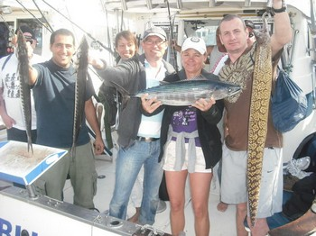 13/01 satisfied fisher Cavalier & Blue Marlin Sport Fishing Gran Canaria