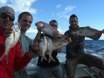 17/01 good fishing day Cavalier & Blue Marlin Sport Fishing Gran Canaria
