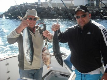 bonito - red snapper Cavalier & Blue Marlin Sport Fishing Gran Canaria