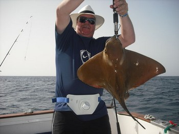 29/01 eagle ray Cavalier & Blue Marlin Sport Fishing Gran Canaria