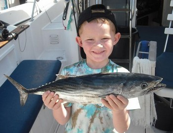 02/02 atlantic bonito Cavalier & Blue Marlin Sport Fishing Gran Canaria