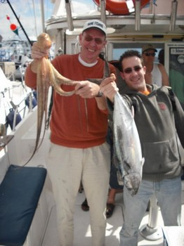 octopus - atlantic bonito Cavalier & Blue Marlin Sport Fishing Gran Canaria
