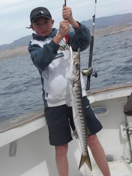 06/03 barracuda Cavalier & Blue Marlin Sport Fishing Gran Canaria