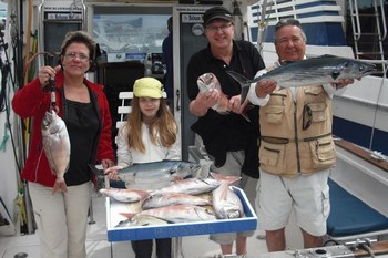 07/03 snappers - bonito's Cavalier & Blue Marlin Sport Fishing Gran Canaria