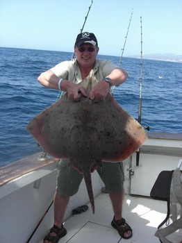 thornback ray Cavalier & Blue Marlin Sport Fishing Gran Canaria