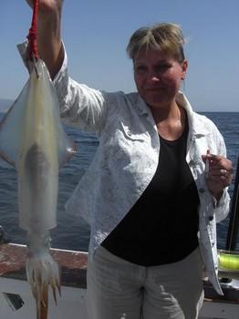 calamares Pesca Deportiva Cavalier & Blue Marlin Gran Canaria