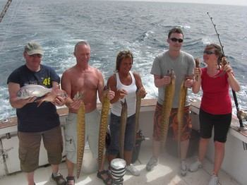 14/03 satisfied fishermen Cavalier & Blue Marlin Sport Fishing Gran Canaria