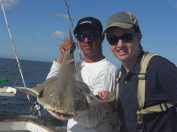 10/04 angelshark Cavalier & Blue Marlin Sport Fishing Gran Canaria