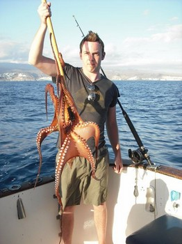 octopus Cavalier & Blue Marlin Sport Fishing Gran Canaria
