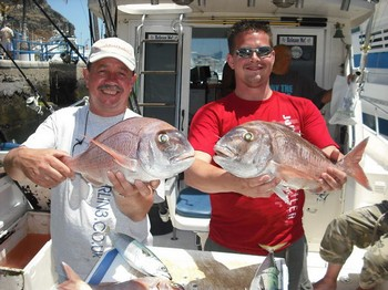 18/05 red snappers Cavalier & Blue Marlin Sport Fishing Gran Canaria