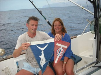 17/06 tag & release Cavalier & Blue Marlin Sport Fishing Gran Canaria