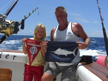 26/06 white marlin Cavalier & Blue Marlin Sport Fishing Gran Canaria