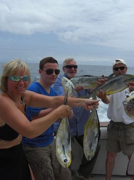 happy clients Cavalier & Blue Marlin Sport Fishing Gran Canaria