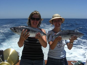 well done ladies Cavalier & Blue Marlin Sport Fishing Gran Canaria