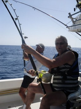 double hook up Cavalier & Blue Marlin Sport Fishing Gran Canaria