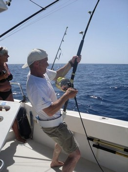 stand up Cavalier & Blue Marlin Sport Fishing Gran Canaria