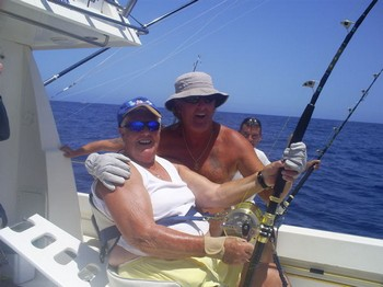 79 years - 9 months Cavalier & Blue Marlin Sport Fishing Gran Canaria