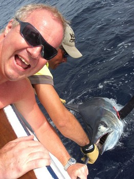 21/07 blue marlin Cavalier & Blue Marlin Sport Fishing Gran Canaria