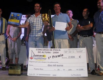 25/07 THE WINNERS Cavalier & Blue Marlin Sport Fishing Gran Canaria