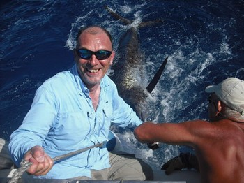15/08 blue marlin Cavalier & Blue Marlin Sport Fishing Gran Canaria