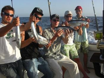 17/08 skipjack tuna Cavalier & Blue Marlin Sport Fishing Gran Canaria