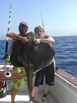 11/09 roughtail stingray Cavalier & Blue Marlin Sport Fishing Gran Canaria