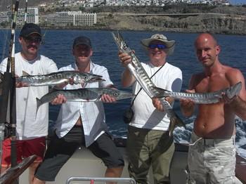 03/10 baracuda's Cavalier & Blue Marlin Sport Fishing Gran Canaria