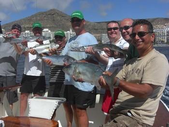06/10 satisfied fishermen Cavalier & Blue Marlin Sport Fishing Gran Canaria