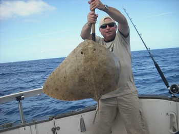 10/10 butterfly ray Cavalier & Blue Marlin Sport Fishing Gran Canaria