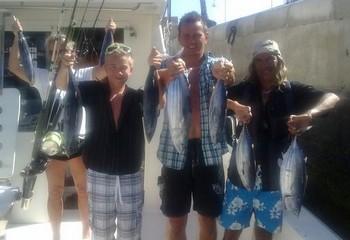12/10 skipjack tuna Cavalier & Blue Marlin Sport Fishing Gran Canaria