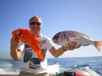31/10 reef fishing Cavalier & Blue Marlin Sport Fishing Gran Canaria