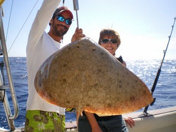 18/11 butterfly ray Cavalier & Blue Marlin Sport Fishing Gran Canaria