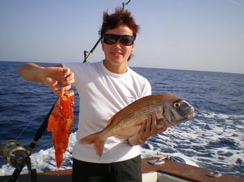 scorpion fish - red snapper Cavalier & Blue Marlin Sport Fishing Gran Canaria