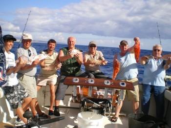 01/12 satisfied fishermen Cavalier & Blue Marlin Sport Fishing Gran Canaria