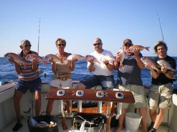 10/12 Satisfied Fishermen Cavalier & Blue Marlin Sport Fishing Gran Canaria