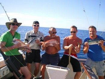 12/12 Satisfied Anglers Cavalier & Blue Marlin Sport Fishing Gran Canaria