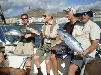 08/01 Satiesfied Fishers Cavalier & Blue Marlin Sport Fishing Gran Canaria